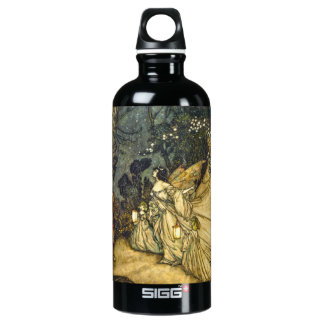 Fairies Wedding Titania and Oberon Water Bottle