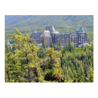 Fairmont Banff Springs Hotel In Banff Canada Postcard