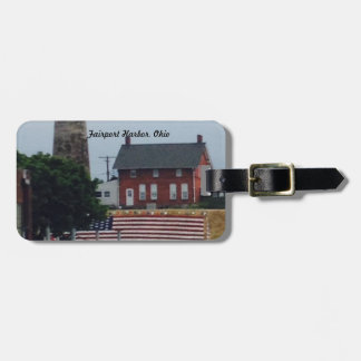 Fairport Harbor,  4th of July photo  Luggage Tag