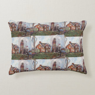 Fairport Harbor,Ohio Painting on a Pillow