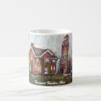 Fairport Harbor, Ohio Painting on Mug