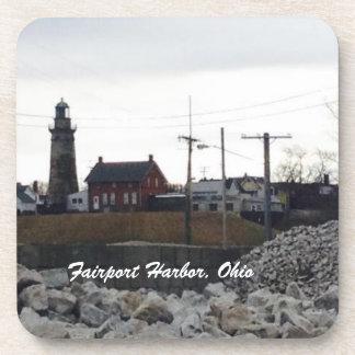 Fairport Harbor, Ohio Photo Coasters