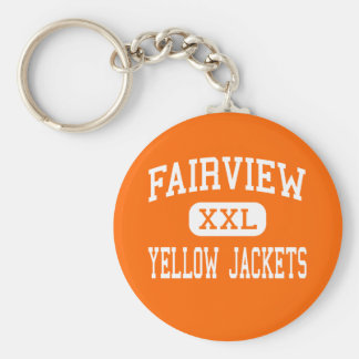 Fairview - Yellow Jackets - High - Fairview Keychain