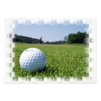 Fairway Inviation de golf Faire-parts