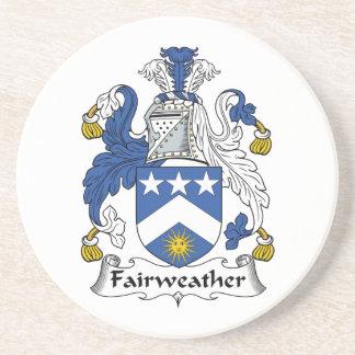 Fairweather Family Crest Coaster