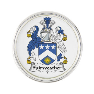 Fairweather Family Crest Lapel Pin