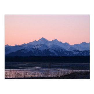 Fairweather Mountain Range Postcard