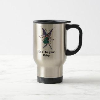 fairy5, Can i be your Fairy Travel Mug