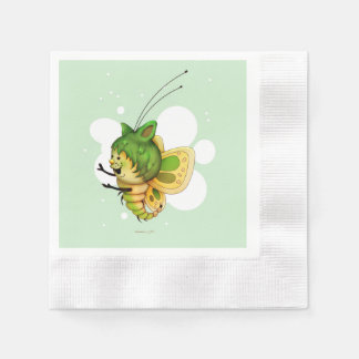 FAIRY 2 CUTE BUTTERFLY NAPKINS DISPOSABLE NAPKIN