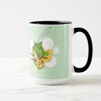 FAIRY 2 CUTE FUNNY CARTOON 15 oz Ringer Mug