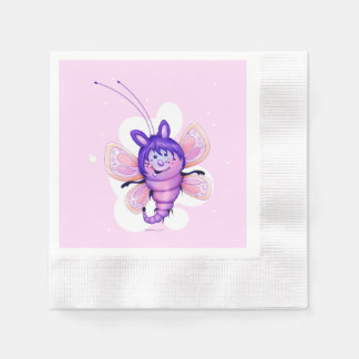 FAIRY 3 CUTE BUTTERFLY NAPKINS DISPOSABLE NAPKINS