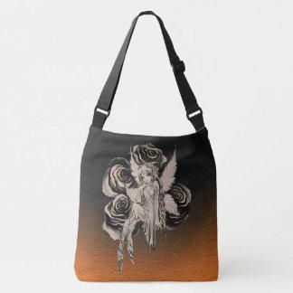 Fairy 3 sepia tote bag