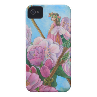 Fairy Amongst the Cherry Blossoms iPhone 4 Covers
