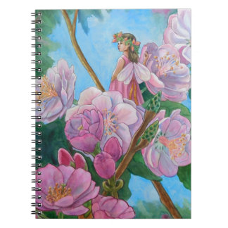 Fairy Amongst the Cherry Blossoms Notebooks