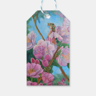 Fairy Amongst the Cherry Blossoms Pack Of Gift Tags