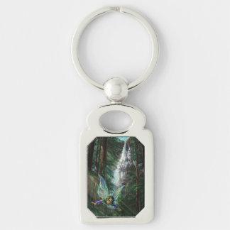 Fairy and Castles Fantasy Art Keychain