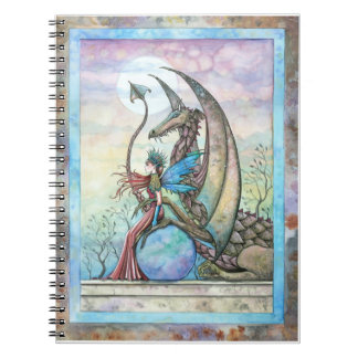 Fairy and Dragon Fantasy Art Notebook