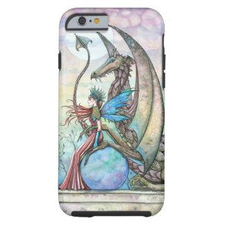 Fairy and Dragon Fantasy Art Tough iPhone 6 case