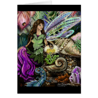 Fairy and Newt Friends Card