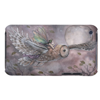 Fairy and Owl Fantasy Art iPod Touch Case