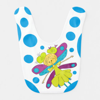 Fairy and Polka Dots Bib