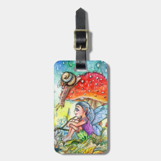 Fairy and the Snail Luggage Tag