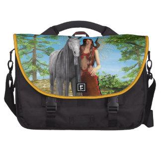 Fairy and Unicorn Laptop Shoulder Bag
