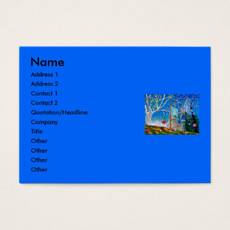 Fairy Artist Faery Business Card