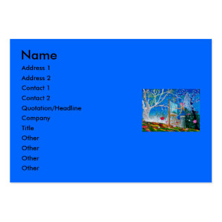 Fairy Artist Faery Pack Of Chubby Business Cards