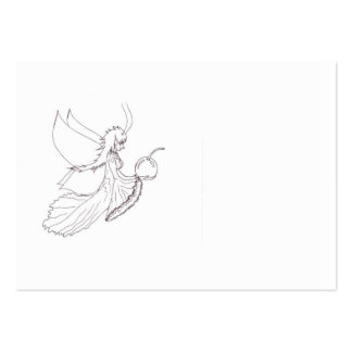 Fairy ATC to Color and Share Large Business Card