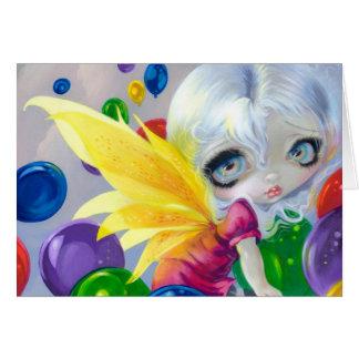 """Fairy Balloons"" Greeting Card"