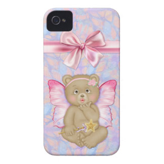 Fairy Bear Kiss Fantasy iPhone 4 Case-Mate iPhone 4 Case