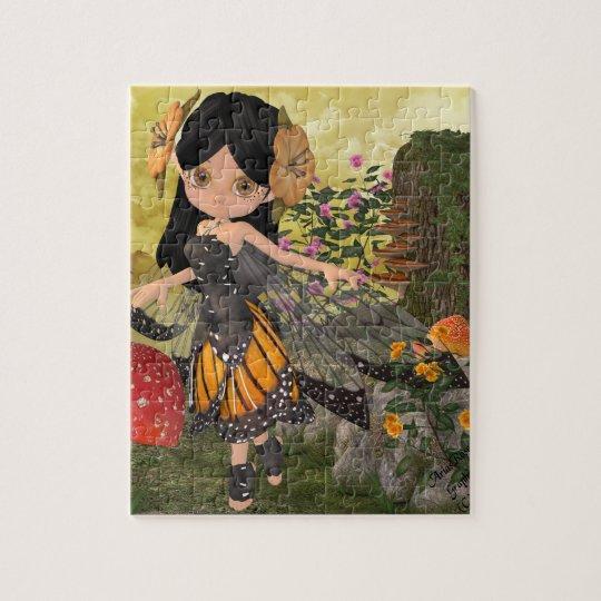 Fairy Bee Jigsaw Puzzle