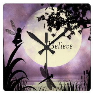 Fairy believe clock