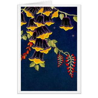 """Fairy Bells"" Blank Greeting Card"