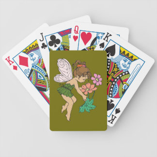 Fairy Bicycle Playing Cards