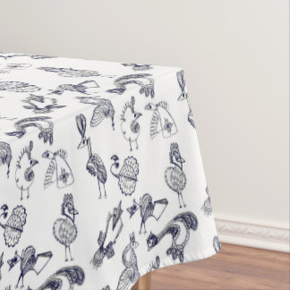 Fairy birds tablecloth