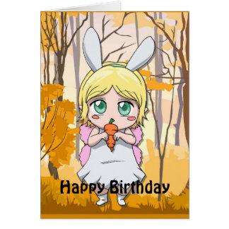 Fairy Birthday - Share my carrot Card