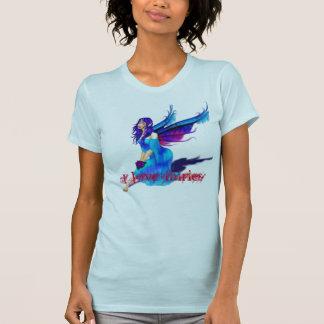 fairy-blue_gif I love fairies Shirts