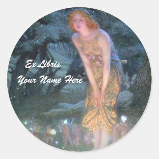 Fairy Bookplate Sticker