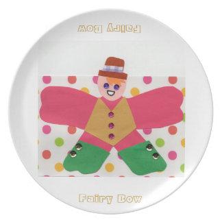 Fairy Bow Dinner Plates