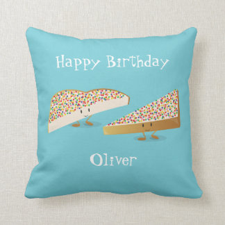 Fairy Bread characters | Throw Pillow