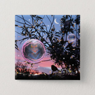 Fairy Bubble! 2 Inch Square Button