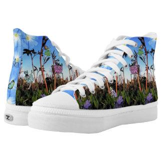 Fairy Butterflies! Woodland Faeries! Pixie Feet! High Tops