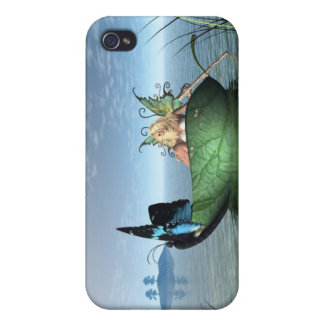 Fairy Butterfly Boat iPhone 4 Covers