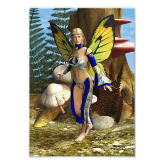 Fairy Butterfly Photographic Print