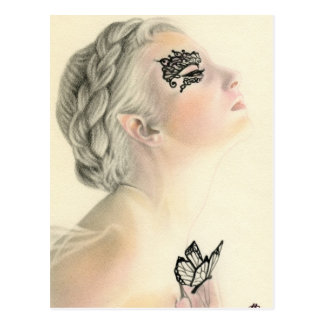 Fairy Butterfly Postcard