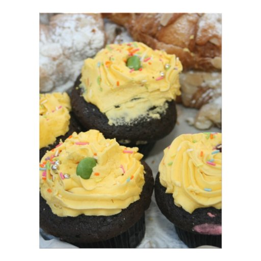 Fairy cakes flyer