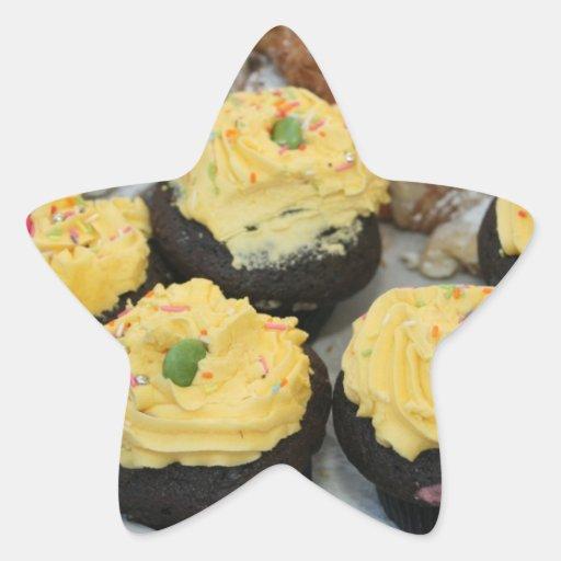 Fairy cakes star sticker