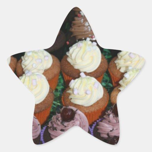 Fairy cakes stickers